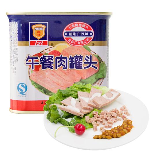中華老字號 梅林 午餐肉罐頭340g*3件 27元、需運費券(天貓44.9元) 買手黨-買手聚集的地方