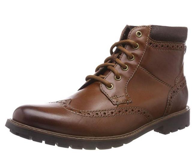 2.3倍差價!Clarks 男士 Curington Rise Chelsea 棕色8.5UK靴子 372.02元包郵包稅(天貓類似款849元) 買手黨-買手聚集的地方