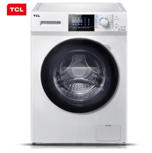 烘干+除螨+1级能效!TCL 8.5公斤 变频滚筒洗衣机 XQG85-F14303HBDP 双12抢购价1979元包邮  享6/12期白条免息 买手党-买手聚集的地方