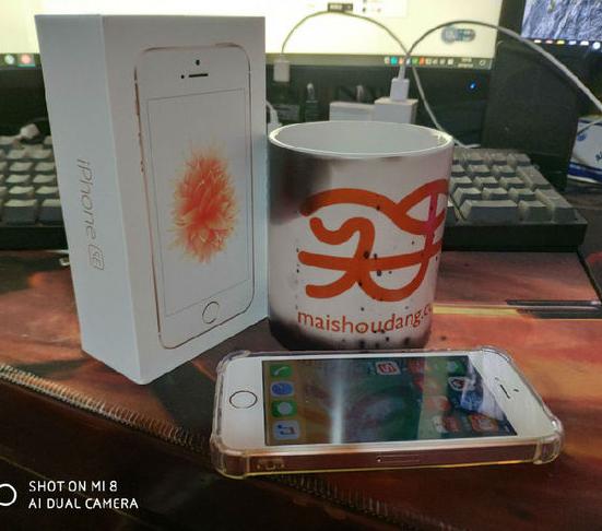 新年第一天晒单:团购的全新iPhone SE到手 150金币晒单 买手党-买手聚集的地方