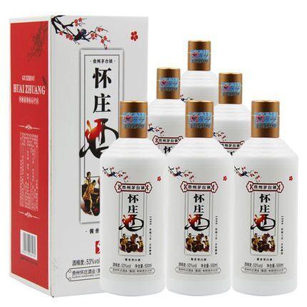 茅台镇老酒厂出品!6瓶x500ml 贵州怀庄酒1996 53度酱香型白酒 券后249元包邮(长期699元) 买手党-买手聚集的地方