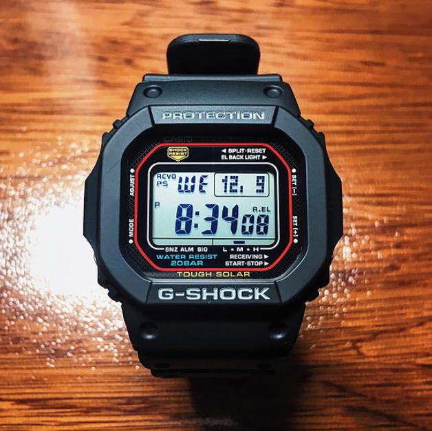 Casio 卡西欧 G-Shock 男士 光动能电波腕表 GWM5610-1 73美元约¥495(美亚93美元) 买手党-买手聚集的地方