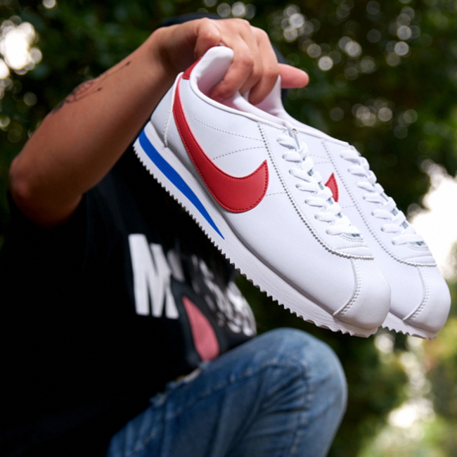 Nike 耐克 男子 元年白红 阿甘鞋