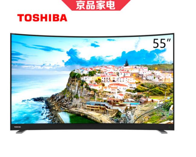 2+16g+55寸:Toshiba 东芝  4K 曲面液晶电视 55U6780C 折后2799元包邮 买手党-买手聚集的地方