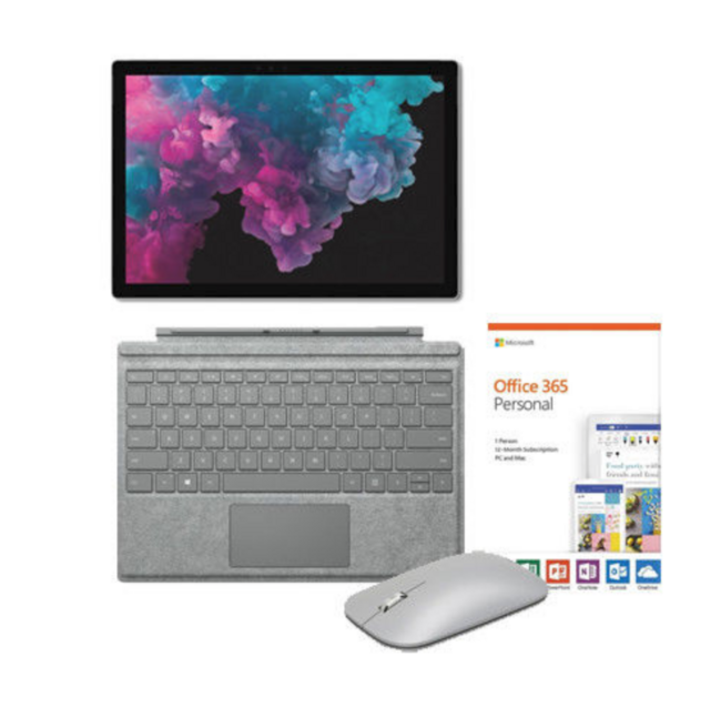 值哭!Surface Pro 6 (i5+8GB+128GB) + 签名版键盘 + 鼠标 + Office 365 799美元约¥5358(国行7500+) 买手党-买手聚集的地方