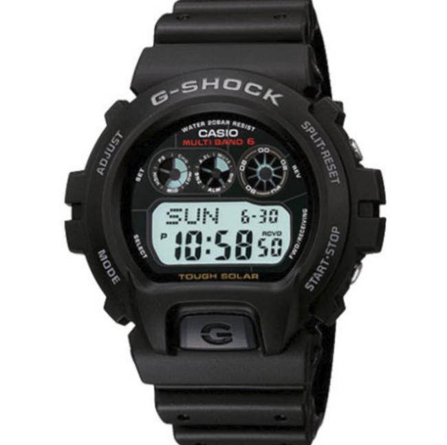 2件!CASIO 卡西欧 G-Shock系列 GW-6900-1 中性款电波表 121美元约¥835(之前推荐75英镑/件) 买手党-买手聚集的地方