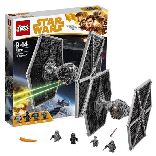 星球外傳電影同款!18日0點、低于海淘: LEGO 樂高 星球大戰系列 75211 帝國鈦戰機 429元包郵 買手黨-買手聚集的地方