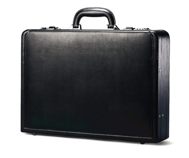 团购否?新秀丽 Bonded Leather Attache 公文包 48美元约¥321(天猫899元 专柜2000+) 买手党-买手聚集的地方