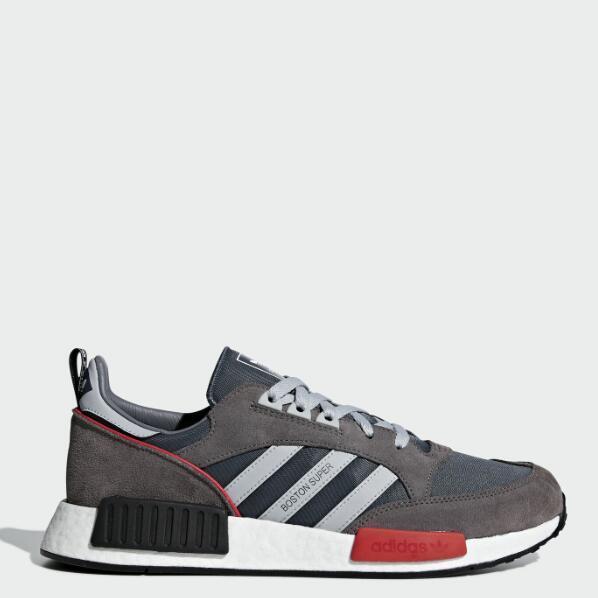 4倍差价:3双 adidas 阿迪达斯 BOSTONSUPERxR1 男女经典运动鞋 123.97美元约¥858(京东3597元) 买手党-买手聚集的地方
