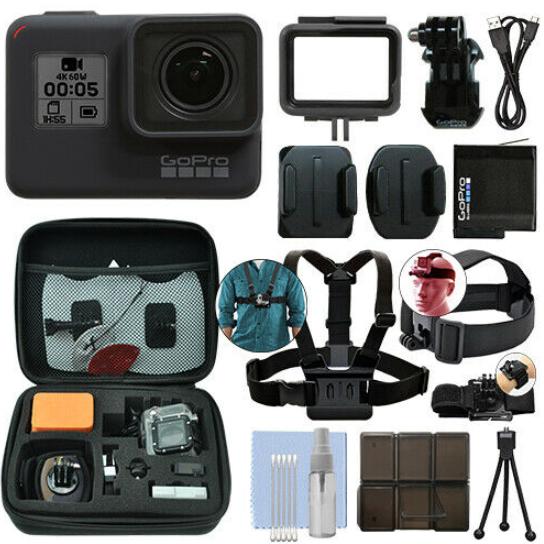 旗舰款,GoPro Hero 7 Black 运动相机 套装 300美元约¥2065(京东3000元) 买手党-买手聚集的地方