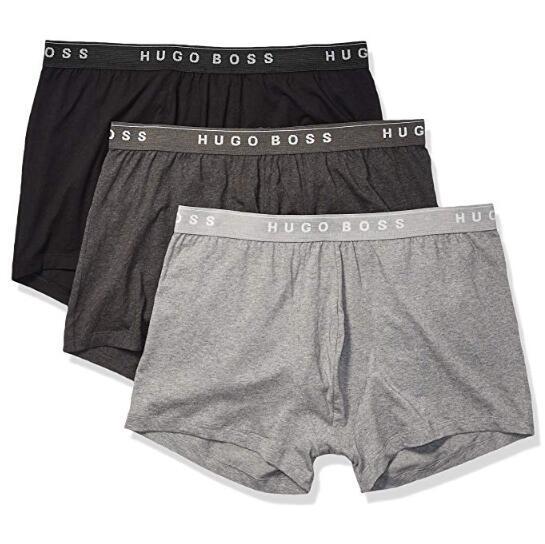 PrimeDay:HUGO BOSS 男士平角内裤 3条装 130元包邮 买手党-买手聚集的地方