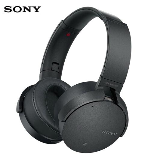 22小時續航、自動AI降噪:SONY 索尼 MDR-XB950N1 無線藍牙降噪耳機