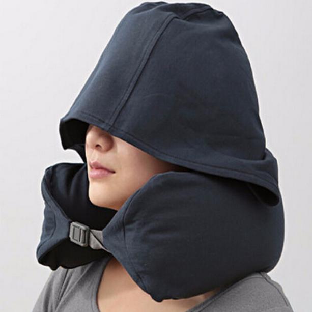 午睡神器:米良品 日式U型枕连帽护颈枕 49元包邮 买手党-买手聚集的地方