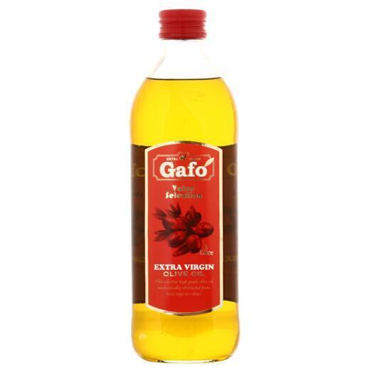 西班牙原瓶进口 1Lx4件 Gafo 嘉禾 红标 特级初榨橄榄油 114.64元包邮 买手党-买手聚集的地方