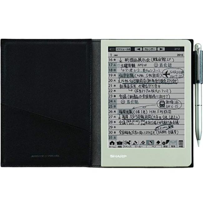 随身携带随时记录,夏普 电子笔记本 WG-S30-B prime会员到手约509元 买手党-买手聚集的地方