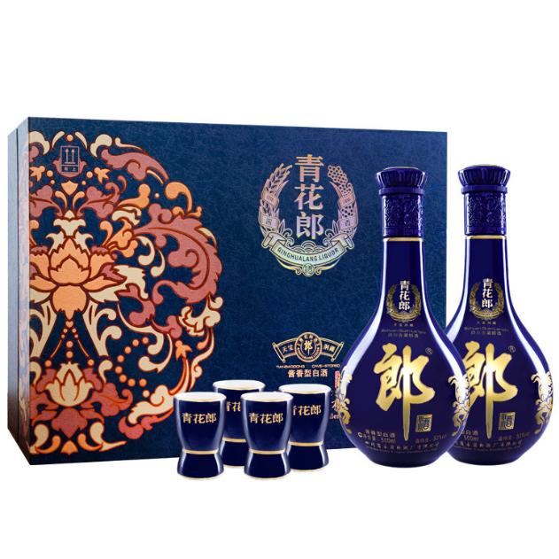 郎酒 青花郎 20年 53度 酱香型白酒500mlx2瓶 礼盒装 1588元(天猫1938元) 买手党-买手聚集的地方