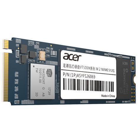 16日0点:acer 宏碁 VT500M系列 M.2 NVMe 固态硬盘 512G 379元包邮 买手党-买手聚集的地方