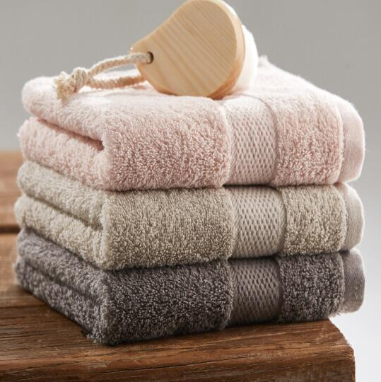 Grace 洁丽雅 纯棉螺旋缎档毛巾 76x35cm 100g 3条装 19.9元 买手党-买手聚集的地方