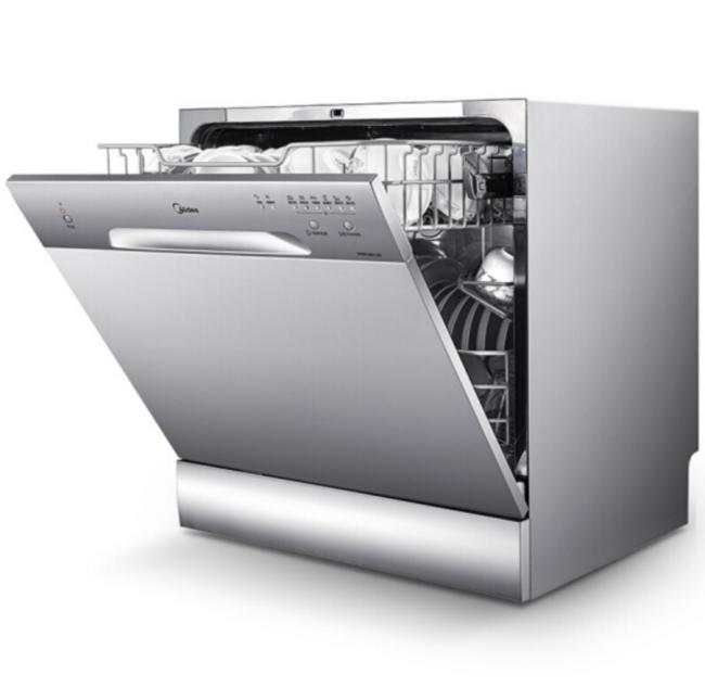 新低!中式8套碗篮,Midea 美的 WQP8-3801-CN 台式洗碗机 1999元包邮(之前推荐2400+) 买手党-买手聚集的地方