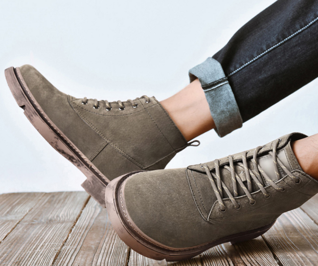買手好評到爆的品牌,新增至20款:固特異 男士真皮馬丁靴 168元包郵(長期328元) 買手黨-買手聚集的地方