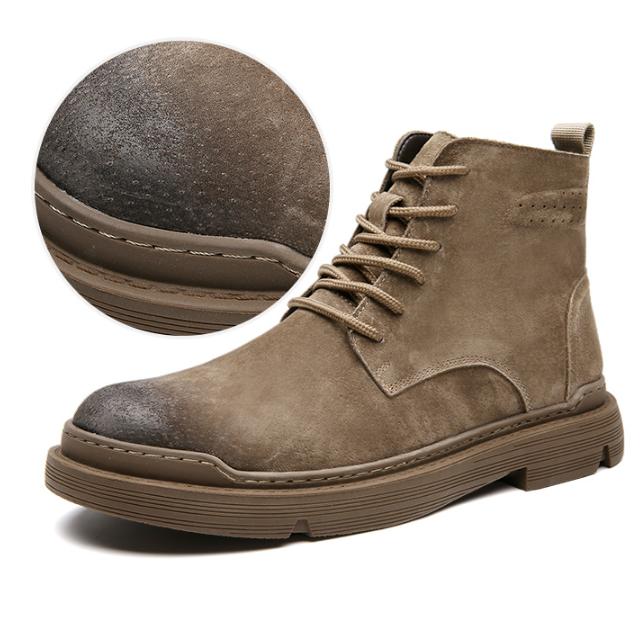 内增高 加绒款同价 19年新款:木林森 男士工装鞋 8款 券后138元包邮(吊牌价396元) 买手党-买手聚集的地方