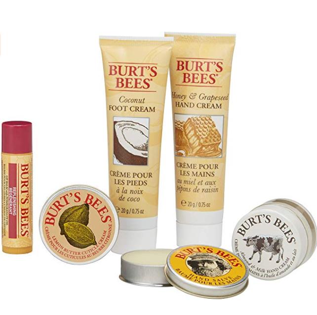从头护理到脚!Burt's Bees 小蜜蜂 从头到脚全身护肤精华 6件套 prime到手约56元 买手党-买手聚集的地方