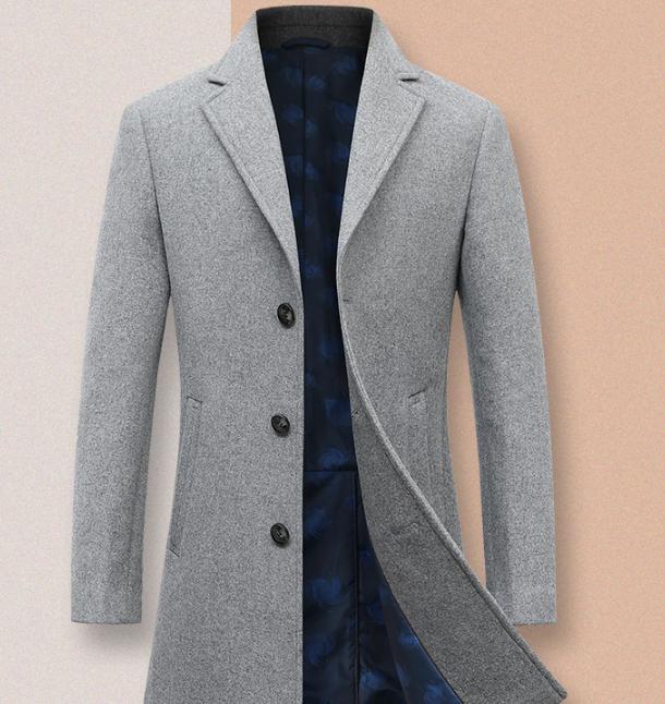 今日结束 羊毛含量50.2%:雪中飞 男士中长款大衣 双重优惠后139元包邮 明日停运 买手党-买手聚集的地方