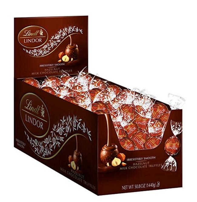 小編長期回購:Lindt 瑞士蓮 榛子牛奶松露巧克力 120粒 prime會員224.6元包郵包稅 買手黨-買手聚集的地方