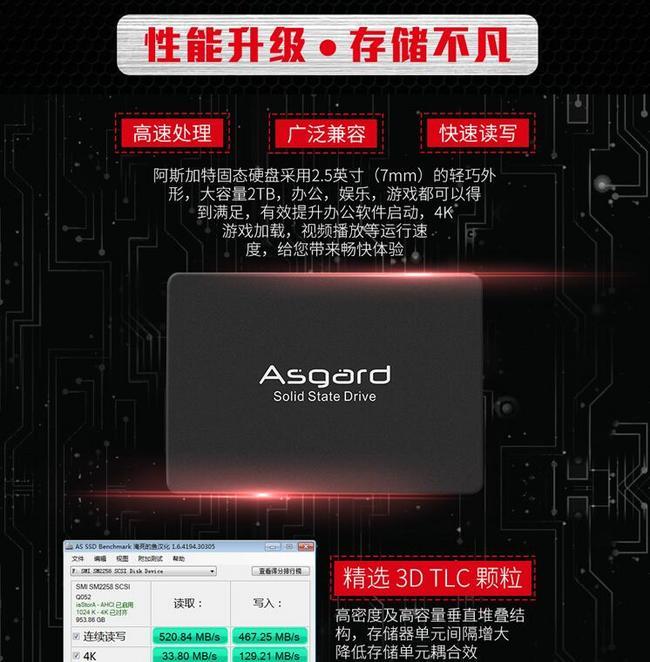 今晚0點,TLC顆粒:Asgard 阿斯加特 AS系列 2TB SSD固態硬盤 999元到手(天貓1949元) 買手黨-買手聚集的地方