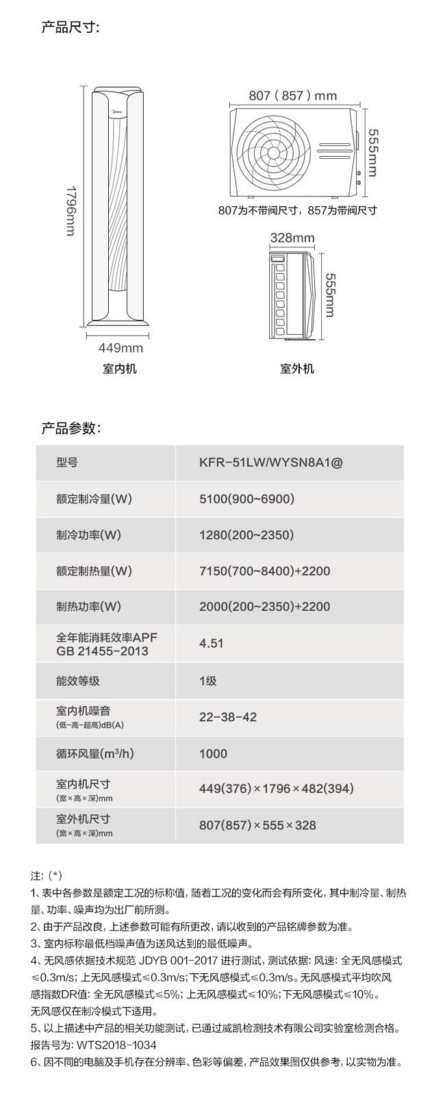 京东代下单、冷暖变频:2匹无风感 美的 舒适星 一级能效 立式圆柱空调KFR-51LW/WYSN8A1 6699元(京东8999元) 买手党-买手聚集的地方