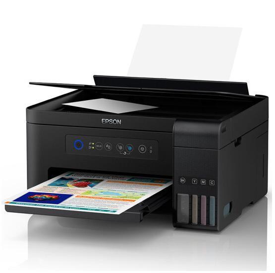 打印+复印+扫描+WiFi:EPSON 爱普生 L4158 墨仓式彩色喷墨一体机 1199元包邮 买手党-买手聚集的地方