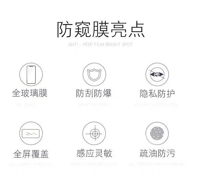 (新增北京可发)买手白菜团、防爆耐刮、45°防窥:2片装 iPhone 全系列防窥膜 团购14.4元包邮(京东30元+) 买手党-买手聚集的地方