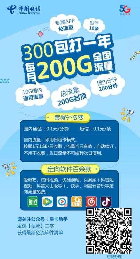 买手甄选团 正规渠道超强资费:中国电信 300元包打1年 300元包邮 买手党-买手聚集的地方