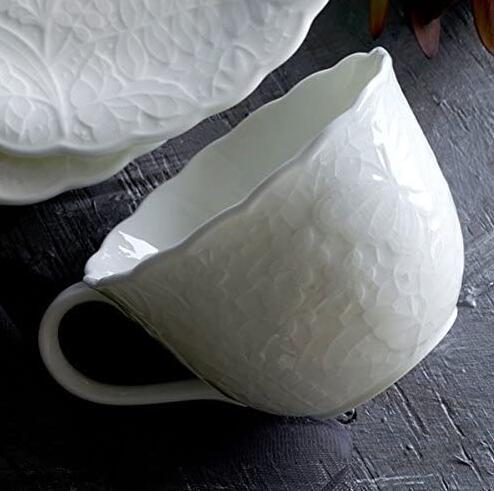 浅库存,世界顶级骨瓷:2只 日本NARUMI鸣海 Honiton Lace系列 骨瓷马克杯套装 Prime凑单直邮到手170元,折合85元/个 买手党-买手聚集的地方