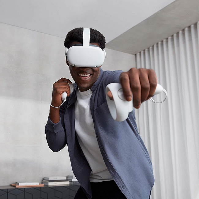 5K预算最好VR设备:Oculus Quest 2无线头戴式VR一体机  直邮到手2200元 小Q已下单 买手党-买手聚集的地方