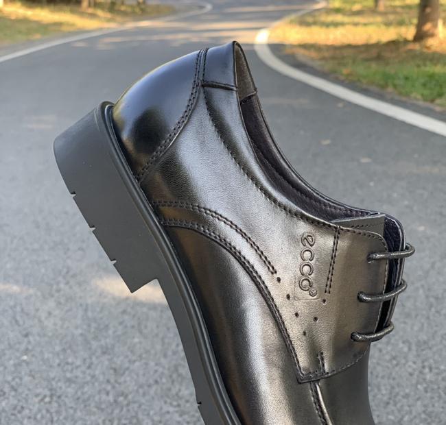 专柜同步款:ECCO爱步 高端时尚潮流皮鞋 319元包邮送129元Dr.martons鞋油(专柜1999元) 买手党-买手聚集的地方