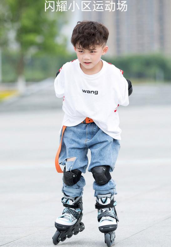 欧标GS认证、 长宽双向调节:Solex 儿童初学 直排轮滑鞋 89元包邮 买手党-买手聚集的地方