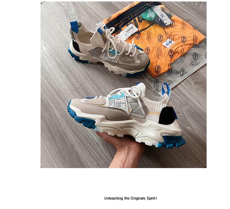 专业减震,CBA 男女 21年新款 老爹鞋时尚百搭跑步鞋 79元包邮 买手党-买手聚集的地方