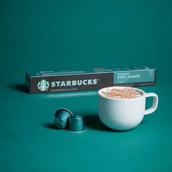 Starbucks 星巴克 Pike Place 中度烘焙 胶囊咖啡10粒x8盒 206元包邮 买手党-买手聚集的地方