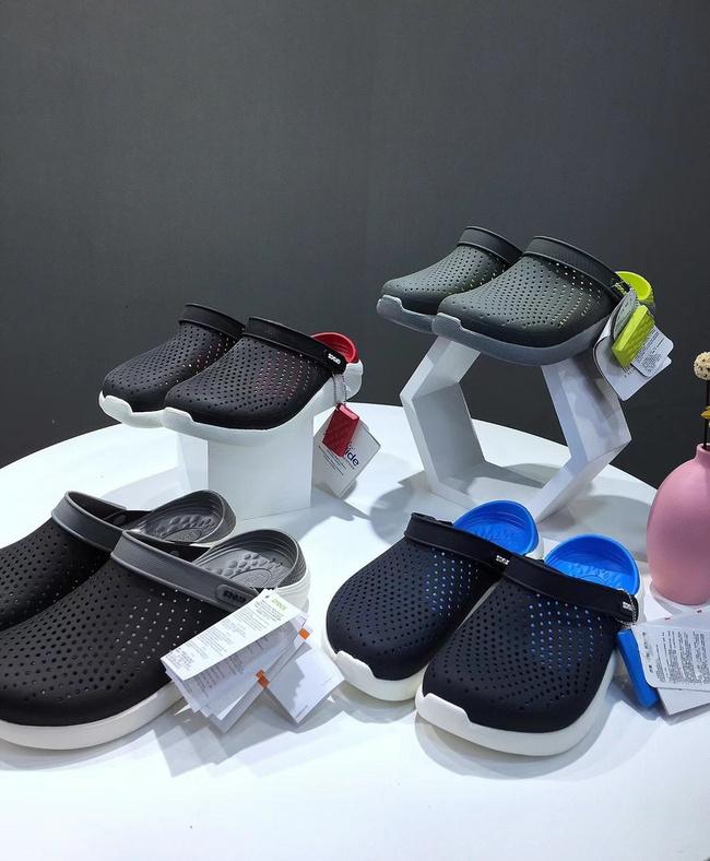 超舒适可随意弯折!Crocs卡骆驰 高端产品线 LiteRide男女休闲防滑平底沙滩鞋 149元包邮(原价569元) 买手党-买手聚集的地方