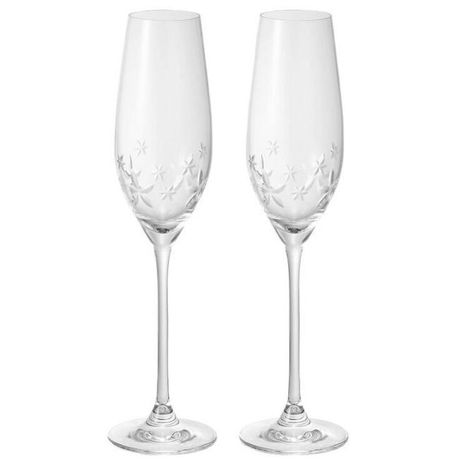 顶级骨瓷,210mlx2只 Narumi鸣海 星之花系列 红酒高脚玻璃对杯 Prime凑单到手217.5元(天猫旗舰店510元) 买手党-买手聚集的地方