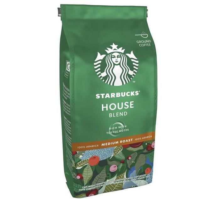 100%阿拉比卡豆,单件免税!200gx6袋 Starbucks星巴克 House Blend中度烘焙咖啡粉 Prime直邮到手183元(天猫1袋75元) 买手党-买手聚集的地方