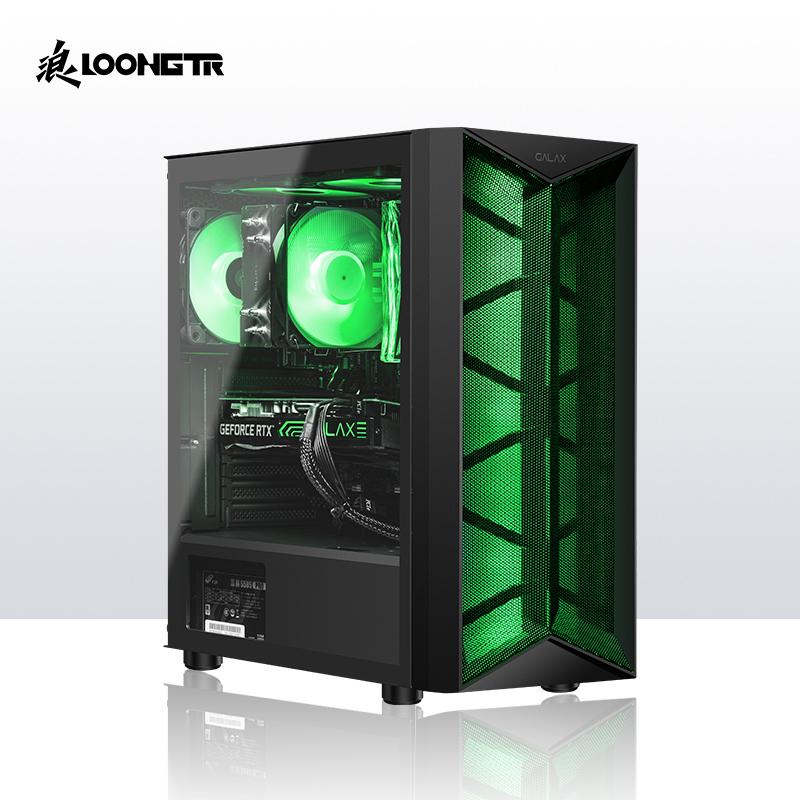 LOONGTR浪 GT i536 组装台式机 i5-10400F+RTX3060+16G+500GB 6499元包邮 买手党-买手聚集的地方