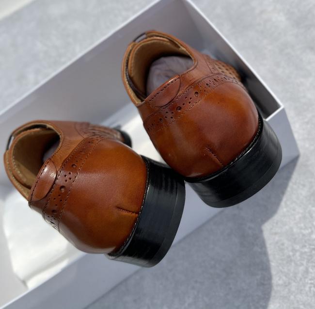 买手甄选团、纯手工制、双层进口头层牛皮+牛皮鞋底:Balmain巴尔曼 男士皮鞋 949元包邮(代购3000+) 买手党-买手聚集的地方