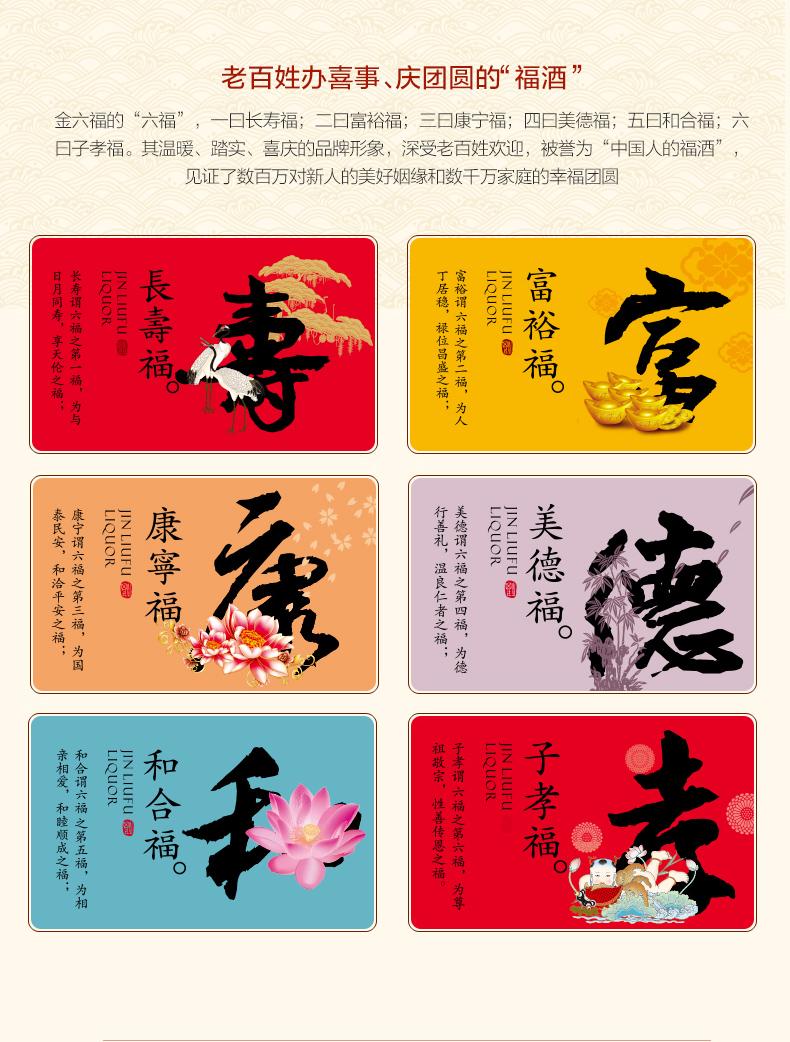 中国驰名商标,五粮液同产线:475mlx6瓶 金六福 经典15 纯粮50度浓香型白酒 129元包邮 买手党-买手聚集的地方