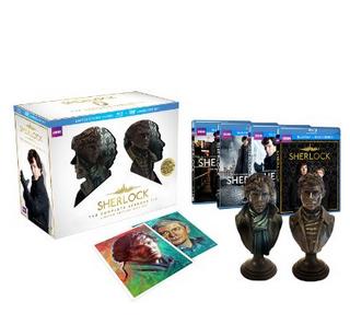 《神探夏洛克》全三季蓝光限量礼盒 88美元¥571(直邮到手630元) 买手党-买手聚集的地方